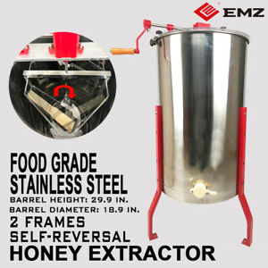Pro Electric 4 8 Frame Stainless Steel Honey Extractor Beekeeping Equipment Hive
