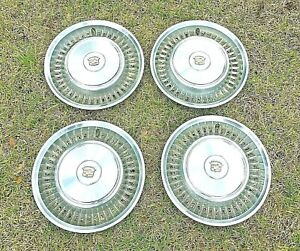 Cadillac Fleetwood Eldorado 16 Hubcap Wheel Cover Set 4 Oem Pt 3515332 Gmc