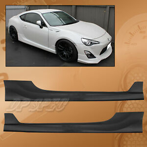 Type x Pu Side Skirts Body Kit Polyurethane For 13 14 Scion Frs