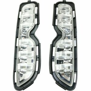 Scion Xb 2013 2015 Right Left Daytime Running Lights Bumper Driving Lamps Pair