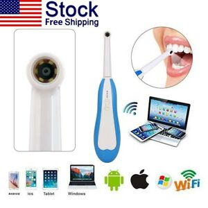 Dental Hd Mini Wifi Wireless Intraoral Oral Camera Fit Ios Android Windows Usa