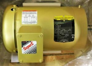 New Vem3556t Baldor Super e 1155 Rpm Electric Motor 1 Hp