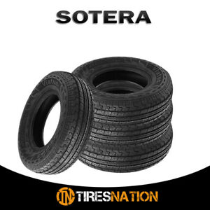 4 New Sotera Viatus St225 75r15 8 All Season Trailer Tires