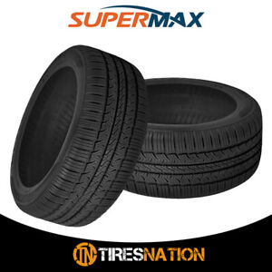 2 New Supermax Tm 1 215 55r17 94v All Season Performance Tires