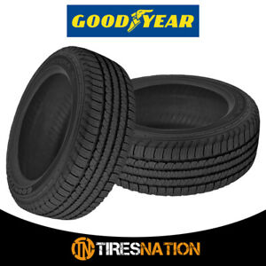 2 Goodyear Fortera Hl P245 65r17 105t All Season Performance Tires