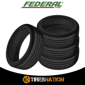 4 Federal Couragia F x 275 55r19 Tires
