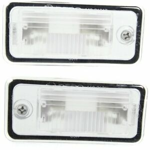 Rear Right left Side New License Plate Lights Lamps Set Of 2 Lh