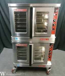 2017 Blodgett Mark V Commercial Electric Double Convection Oven 1 Or 3 Phase