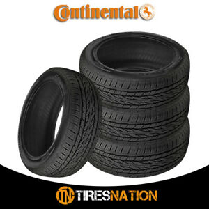 4 New Continental Crosscontact Lx20 235 70r16 106t Owl Tires