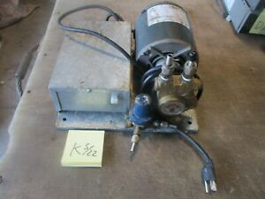 Used 1 3 hp Carbonator Pump W Rotoflow Pump For Soda Fountains