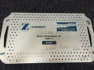 Zimmer Basic Instrument Set 2600 11 a5 2