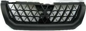 Black Grill Assembly For 2000 2001 Mitsubishi Montero Sport Grille