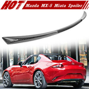 Carbon Fiber Mazda Mx5 Mx 5 Miata 4th Convertible V Style Trunk Spoil