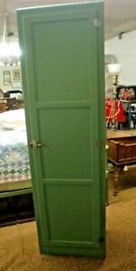 Chimney Country Kitchen Pantry Cupboard 1 Door Green And Clean