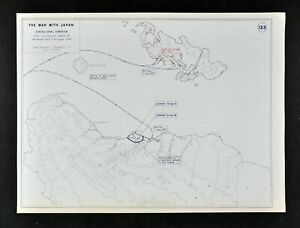 West Point Wwii Map War With Japan Battle Of Guadalcanal Solomon Islands Aug 7