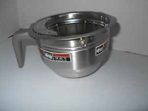 Bunn Stainless Steel Splashgard Funnel Brew Basket New