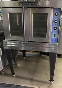 Bakers Pride Gdco g1 Commercial Single Deck Gas Convection Oven