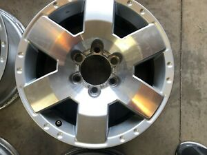 Toyota Fj Cruiser 17 Machined Factory Stock Oem Wheel Rim 2007 2008 09 10