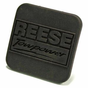 Reese Towpower Hitch Box Receiver Cover Durable Black Rubber 2 Black