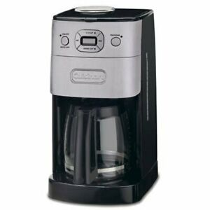 Dgb 625bc Grind and brew 12 cup Automatic Coffeemaker Brushed Metal