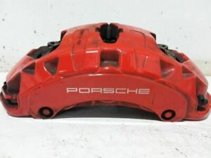 Driver Caliper Front Gts Red Painted Calipers Fits 11 16 Porsche Cayenne 776993