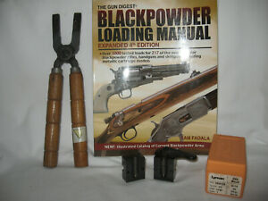 Lyman Single Cavity 45 cal. RN 500gr RIFLE MOULD HANDLE and BOOK