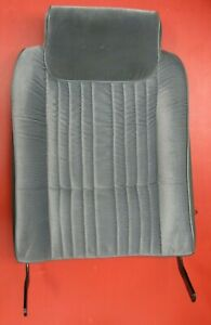 86 87 88 Olds Cutlass 442 Genuine Gm Used Passenger Side Seat Back Gray Cushion