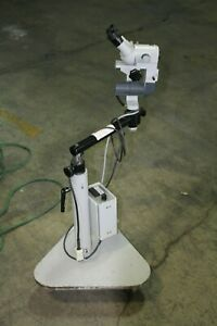 Carl Zeiss Opmi 1 Operating Microscope 129889 W carl Zeiss 6v 30w Lamp Power Sup