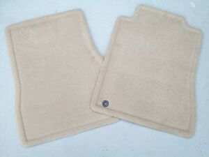 2005 2006 2007 2008 2009 Ford Mustang Gt Or V6 Carpeted Floor Mats 2 Pc Tan