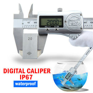Ip67 Digital Calipers Coolant Proof Cal 6 150 Mm Stainless Steel 100 800 06
