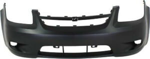 Primed Front Bumper Cover Replacement For 2006 2010 Chevrolet Cobalt