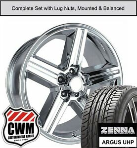 18 Inch Wheels And Tires For Chevy El Camino Chrome 18x8 Iroc Rims Fit 1982 1987