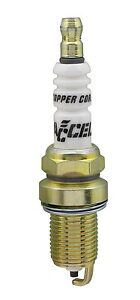 Accel 0786 4 Copper Core Spark Plugs