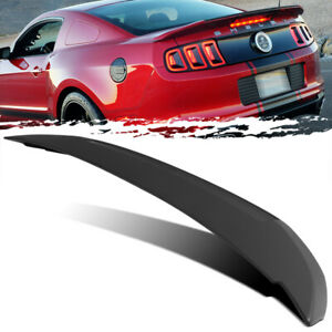 For 10 14 Ford Mustang Shelby Gt500 Style Unpainted Trunk Deck Lid Spoiler Wing
