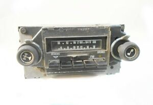 1970 s To 1980 s Delco Am Fm 8 Track Stereo Radio With Knobs Clean