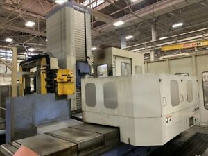 Mitsubishi Mht 1618 Cnc Table Type Horizontal Boring Mill B39446