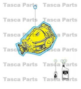 New Oem Rear Axle Differential Chrysler 300 Dodge Challenger Charger Magnum