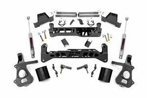 Rough Country 7 Lift Kit Fits 14 18 Chevy Silverado Gmc Sierra N3 Shocks