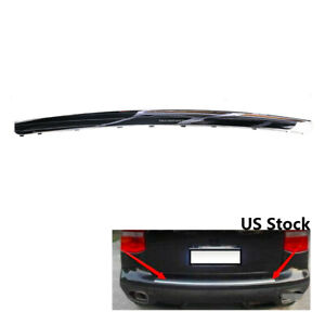 New For Porsche Cayenne Rear Bumper Trim Finish Plate 2008 2010 95550578710