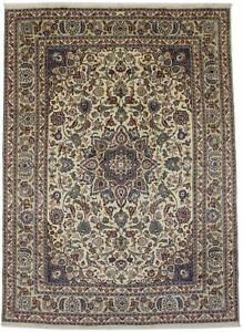 Vintage Hand Knotted Classic 8x11 Rare Persian Rug Oriental Home D Cor Carpet