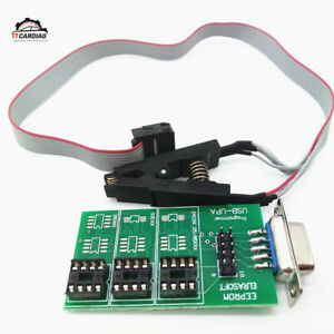 Upa Usb V1 3 Chip Programmer Eeprom Board Adapter With Sop8 Soic8 Clip