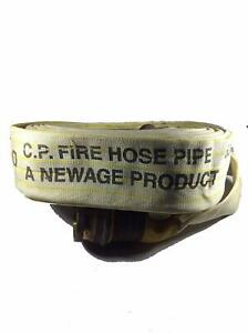 Water Shield 15 Meter Fire Hose Pipe With Brass Male Female Coupling Binding