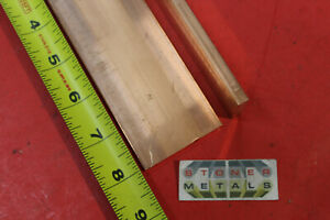 14 Pieces 1 4 X 2 C110 Copper Bar 8 Long Solid Flat Mill Bus Bar Stock H02