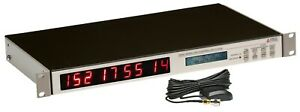 Arbiter Systems 1093c Opt 28 Gps Time Atomic Master Clock Receiver Led