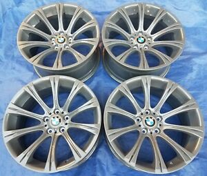 Bmw E60 61 Oem M5 E63 E64 M6 M Sport Staggered 19 Style 166 Restored Wheels Rim
