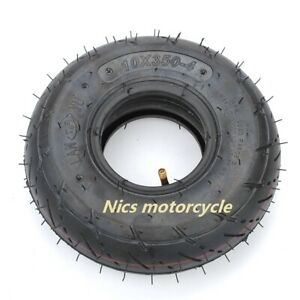 ATV Electric Scooter Wheel Barrow  Tire 10*350-4 (Inner tube + tire) trolley