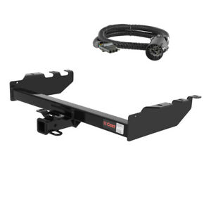 Curt 2 Trailer Hitch For 2003 Chevy Silverado 2500 Ld With Wiring