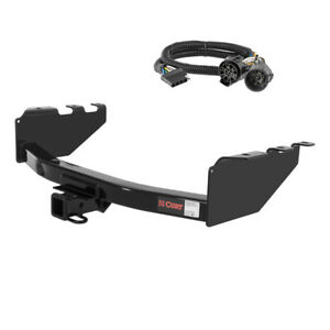 Curt 2 Trailer Hitch For 2008 Chevrolet Silverado 3500 With Wiring