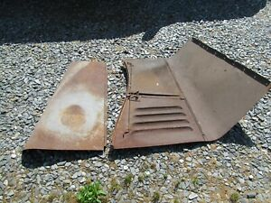 Antique Car Parts Hood Front Side 1933 Pontiac