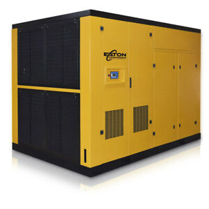 300hp Rotary Screw Air Compressor Gear Driven Direct Drive Variable Speed